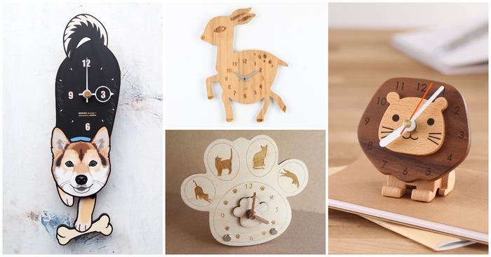 【療癒系】8 款讓人只想抱緊處理的可愛動物造型時鐘!