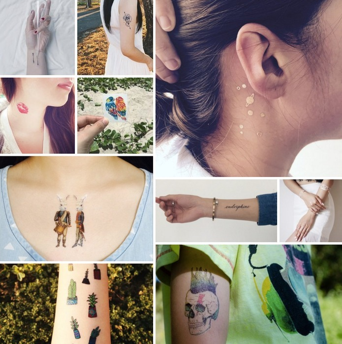 3605853ee 10 Temporary Tattoo Styles to Find Your Inked Tribe - Read Zine - Pinkoi