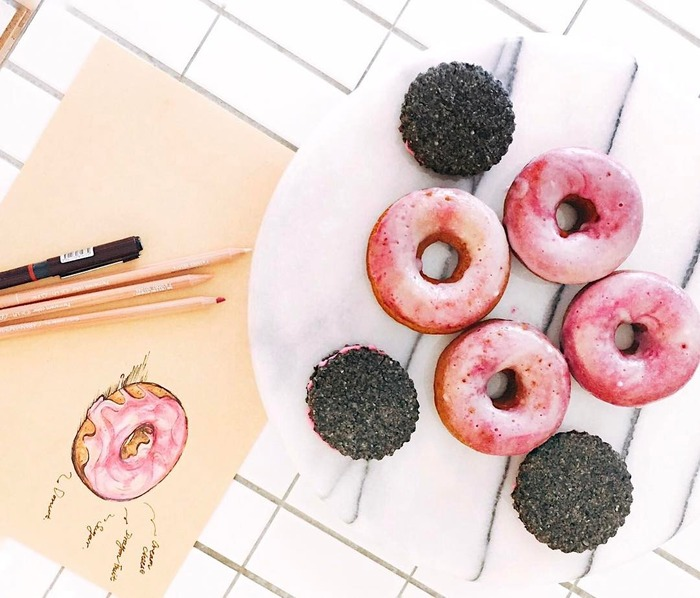 Tamed Fox 粉紅銀河甜甜圈