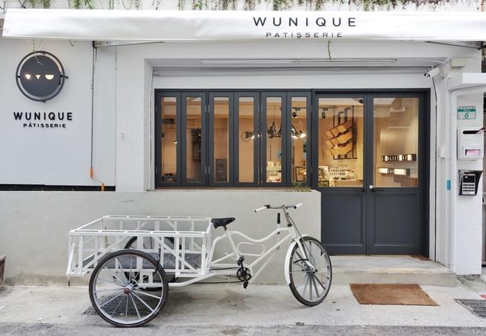 WUnique Pâtisserie 店外照