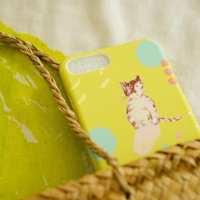 スマホケースの使用例の商品写真