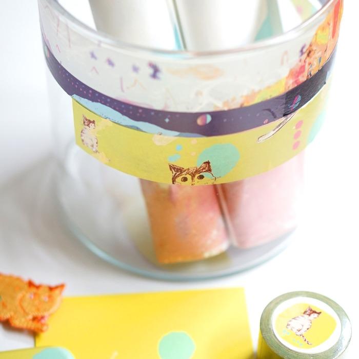 マスキングテープの使用例の商品写真