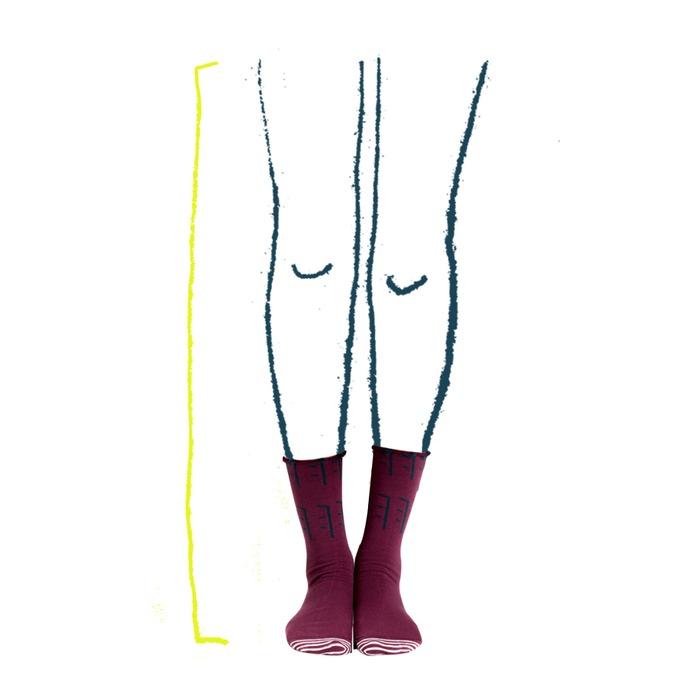 襪子 小腿 粗