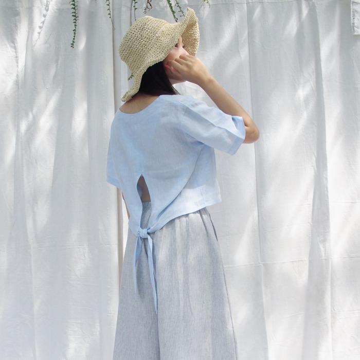 humming three 少女 女裝 夏日 時尚品牌 露背