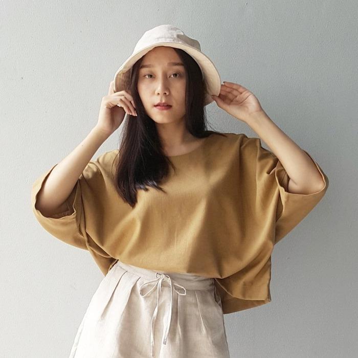 棉麻 上衣 oversize 鬆身 泰國 女裝 夏季