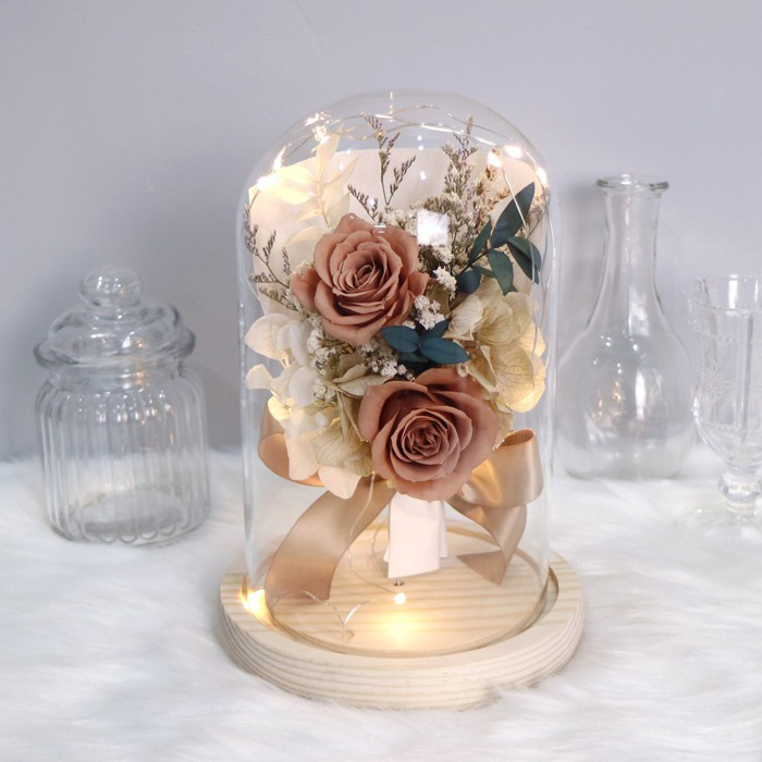 2021情人節禮物 乾燥花 送花 訂做情人花束
