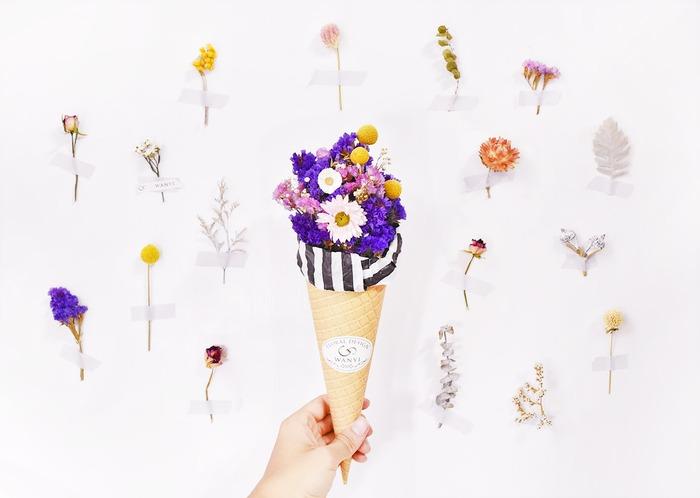 乾燥花花束