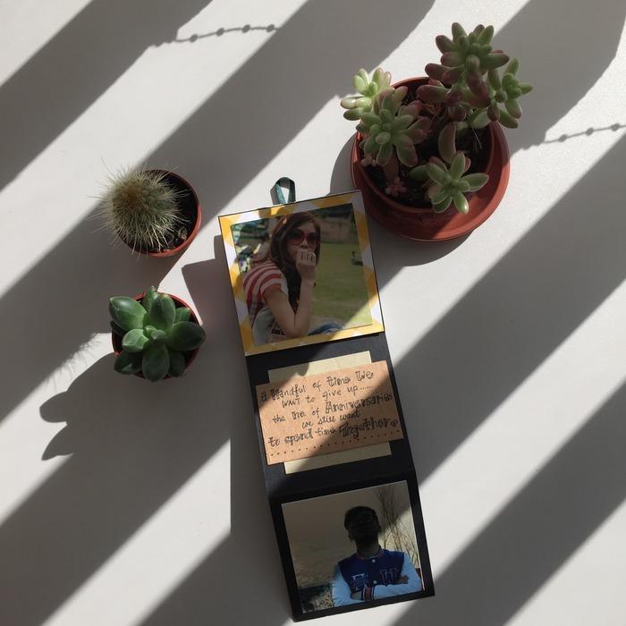 2018 情人節禮物 DIY 照片爆炸盒