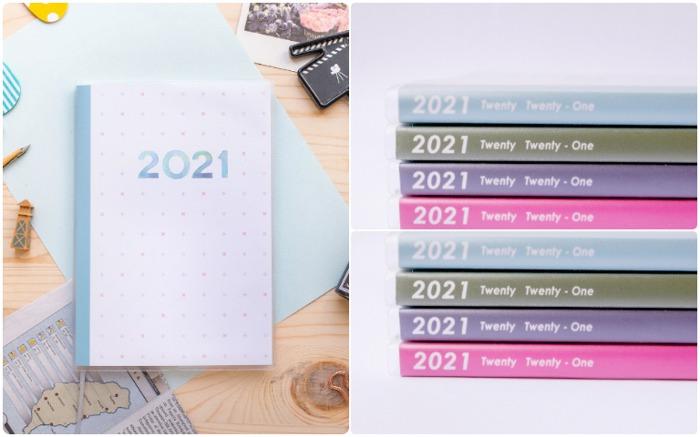 2021手帳行事曆 2021時效性手帳 實用 手帳 手帳推薦 生活風格 筆記本 2021 2021無時效手帳
